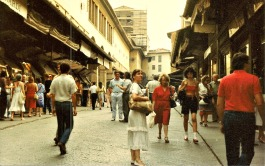 On the street of Florence